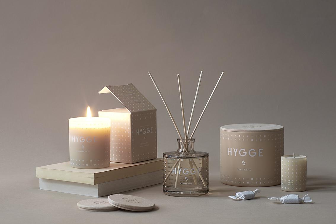 Skandinavisk candles hygge