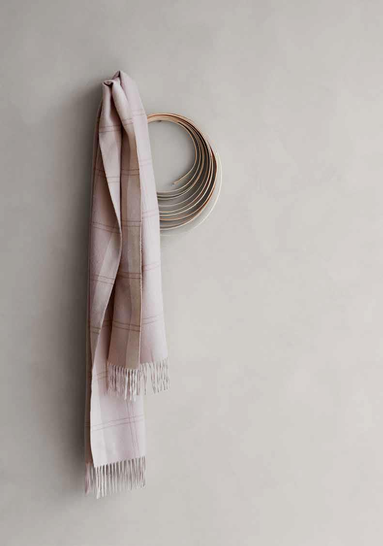 pink elvang scarf